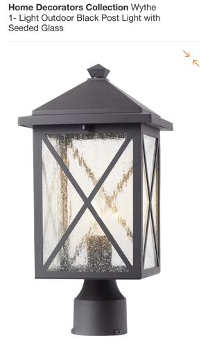 Exterior Lamp Post Mount NEW Bronze Light Outdoor Patio Landscape Garden for Sale in Payson, AZ