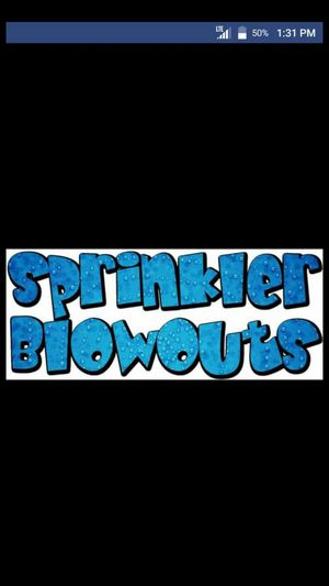 Sprinkler blowout $35 for Sale in Aurora, CO