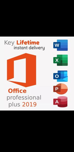 Microsoft Office Professional Plus 2019 for Sale in Mohegan Lake, NY
