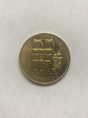 Cathrdale Norte Dame De Paris Coin! for Sale in Madisonville, TN