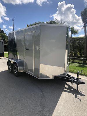 Spartan Enclosed Cargo Trailer 6x12 Tandem Axle for Sale in Pembroke Pines, FL