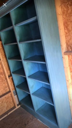 Cedar book shelf for sale !! Moving Sale for Sale in North Bethesda, MD