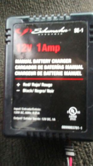 12v 1 amp battery charger for Sale in Portland, OR