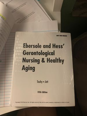 Gerontological Nursing and healthy aging 5th edition for Sale in Hialeah, FL