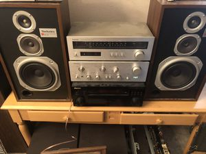 Vintage Technics Stereo System Excellent Condition for Sale in Sun City, AZ