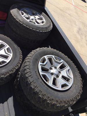 "17"" Wheels for Jeep Wrangler Rubicon (4) Wheels for Sale in Houston, TX"