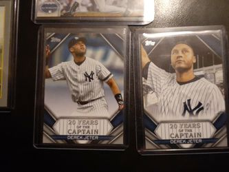 Derek Jeter 4 Card Lot for Sale in Ellensburg,  WA