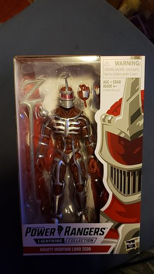 Lord Zedd lightning collection for Sale in Louisville, KY