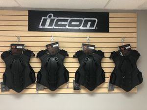 Icon Field Armor 3 vest large small motorcycle riding gear for Sale in Hialeah, FL