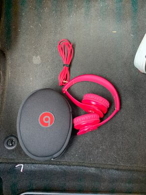 Beats Solo HD with case included $60 for Sale in Long Beach, CA
