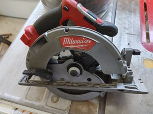 Milwaukee M18 Fuel circular saw for Sale in Tigard, OR