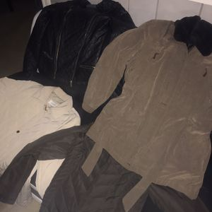 WOMAN Coats Pants Sweaters Shirts(NEW/USED) for Sale in Odenton, MD