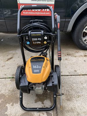 Workforce 2500 psi pressure washer 2.5 GPM 166cc for Sale in Canal Winchester, OH