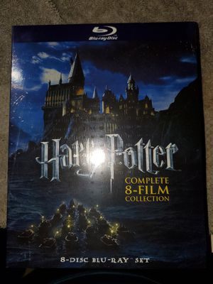 Harry potter 8 disc blue ray set for Sale in Hermitage, TN