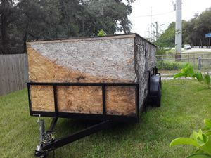 16×6-1/2 Tandem Enclosed Trailer,Summerfield Florida for Sale in Oxford, FL