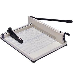 Costway 17 Inch A3 Paper Cutter Guillotine Trimmer Cutting Machine Heavy Duty 400 Sheets for Sale in San Gabriel, CA