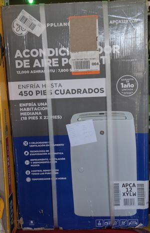 GE 12,000 BTU (7,800 BTU, DOE) Portable Air Conditioner with Dehumidifier for Sale in Tampa, FL
