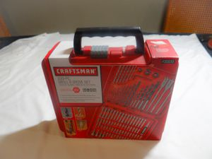 Craftsman 100-PC Drill and Drive set. New and sealed for Sale in Fontana, CA