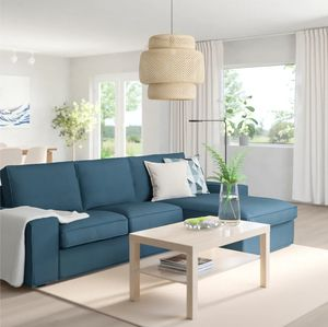 Dark blue L-shape sofa couch for Sale in Baltimore, MD