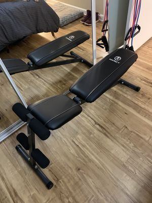 Adjustable weight bench for Sale in San Diego, CA