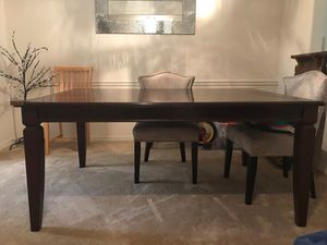 **MOVING SALE** solid wood dining table for Sale in Bradenton, FL
