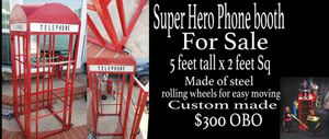 Phone booth photo photography prop party for Sale in Seal Beach, CA