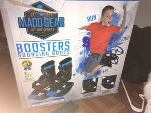 Kids toy bounce shoes madd gear for Sale in Houston, TX