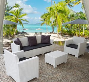 Italian Outdoor furniture, Patio Dining Sets & Outdoor Conversation Sets available in 3 colors for Sale in Miami Lakes, FL
