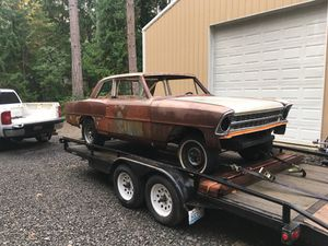 67 Chevy II / Nova parts car and parts for Sale in Port Orchard, WA