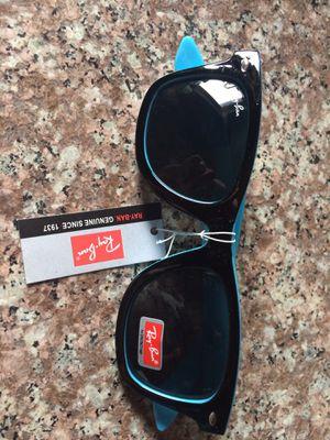 Ray ban sunglasses blue wayfarer for Sale in Riverside, CA