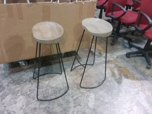 LQQK ~~~~~~~~ FOUR (4) Rugged bar stools .... really cool for Sale in Bel Air, MD