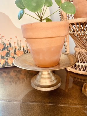 Brass Candle stick /plant holder for Sale in Dallas, TX