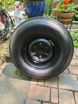 Cooper Travel Trac II Tubeless Trailer Tire with Rim for Sale in Elizabethtown, PA