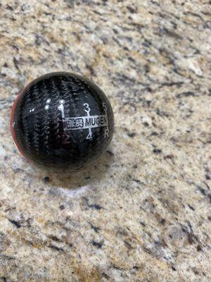 New Carbon fiber shift knob mugen Honda Civic universal for Sale in Aventura, FL