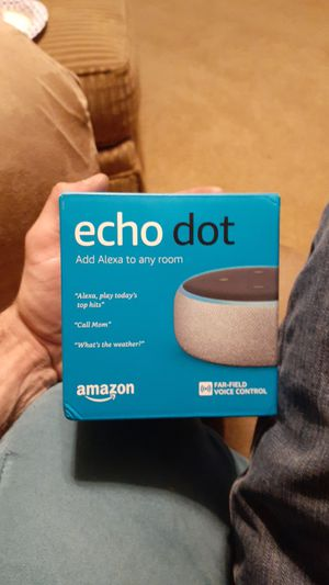 Amazon echo dot for Sale in Rogers, AR