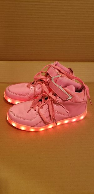 Pink Kids Size 4 Multiple Sole Lights Shoes for Sale in Washington, DC