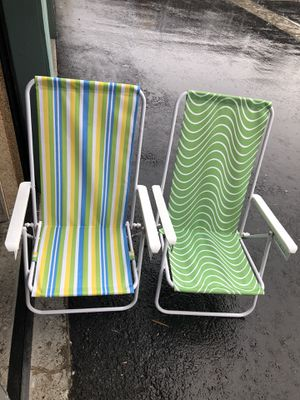 2Chairs for the beach in very good condition for Sale in El Cajon, CA