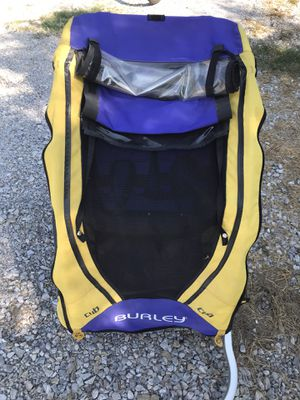 Burley double bike trailer for Sale in Argyle, TX