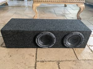Custom ported box with boston pro's for Sale in San Diego, CA