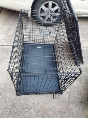 Large Metal Dog Crate for Sale in Round Rock, TX