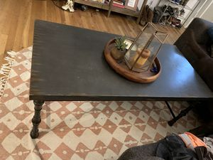Metal Coffee Table & Matching Side Table for Sale in Arvada, CO
