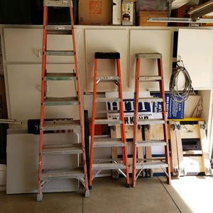 3 Ladders FOR SALE! for Sale in Rancho Cucamonga, CA