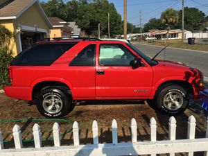 2003 chevy blazer LOW MILES runs great for Sale in Tampa, FL