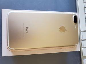 iPhone 7 Plus 256gb Gold for Sale in Fullerton, CA