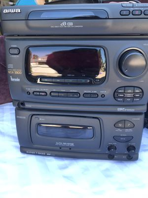 Aiwa CD and tape stereo system for Sale in Aurora, CO