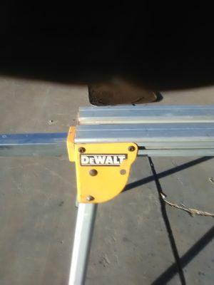 DEWALT MITER SAW TABLE for Sale in Tempe, AZ