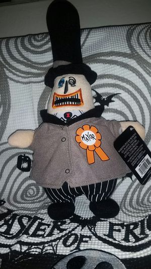 The Nightmare Before Christmas Collectable 25 Years Plush Mayor. for Sale in Austin, TX