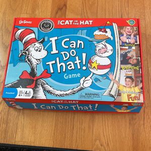 The Cat In The Hat I Can Do That! Game For Kids for Sale in Fall City, WA