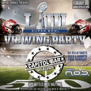 Huge Super Bowl viewing party : Free admission tickets for Sale in Houston, TX