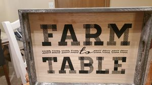 All Wood Distressed Tray with Handles for Sale in Arnold, MO